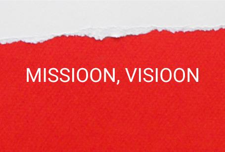 Missioon, visioon