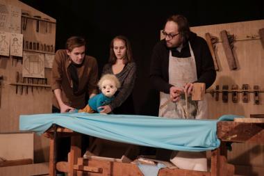NUKU teatris esietendub lavastus väikelapse kasvamisest
