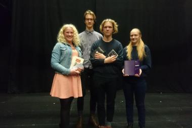 Selgusid gümnaasiumi teatrimälumängu võitjad