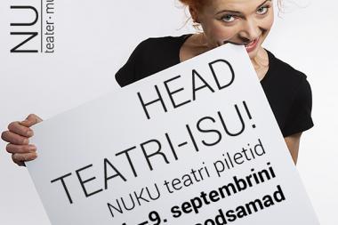 Algas NUKU teatripiletite sooduskampaania
