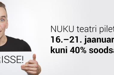 Algas NUKU teatri piletite sooduskampaania