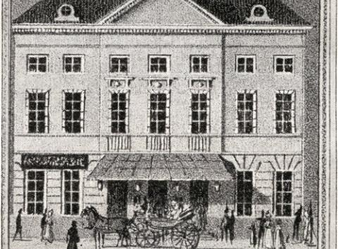 History of the theatre building