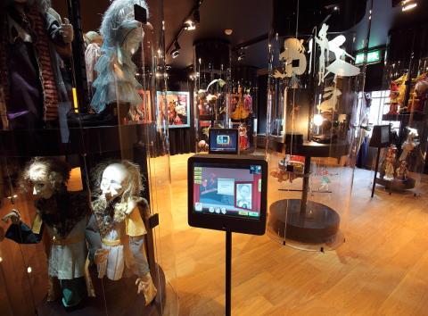 NUKU muuseumi nukuliikide saal 2010. aastal